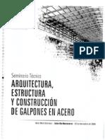 Arquitectura, Estructura y Const. de Galpones