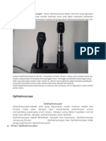 Ophthalmoscope