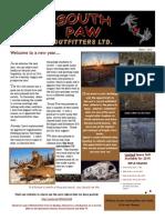 Newsletter - Winter, 2015