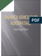 Dinamica vehiculelor aerospatiale