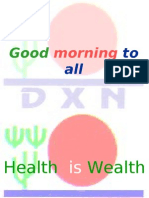 DXN is the perfect Business