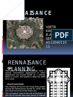 Rennaissance planning ppt