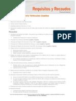Acta de Consignacion Credito de Vehiculo Usado -Notilogia