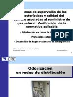 Odorizacion en Redes de Distribucion - Protección Catódica - Inspección de Fugas y Atención de Emergencias