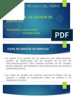 capa gestion de servicio