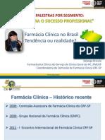 Segmento Farmcia Clnica - Dra. Solange Brcola