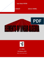 Elements of Linear Algebra