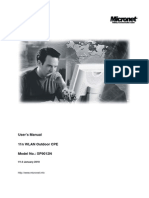 SP9012N 11N Outdoor Wireless CPE Manual