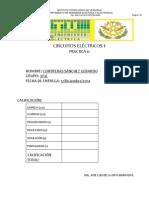 PRACTICA No 11 Transitorios en Circuitos RLC