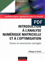 Ciarlet - Introduction à l'analyse numérique matricielle et à l'optimisation.pdf