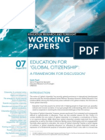ERF Paper No 7 - Educ for Global Citizenship