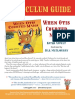When Otis Courted Mama Curriculum Guide