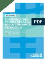 3-Empoderamiento Politico de Las Mujeres