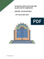 Kyambogo University Additional Graduation List