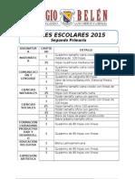 Lista Útiles 2015