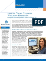 Doctors Nurses Overcome Workplace Hierarchies