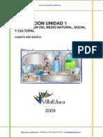 Evaluacion Sumativa Comprension 4basico Unidad1 de 2009