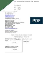 Complaint, Spirit of Aloha Temple v. County of Maui, No. 1:14-cv-00535-RLP (D. Haw. Nov. 26, 2014)