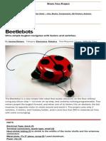 Beetlebots - MAKE