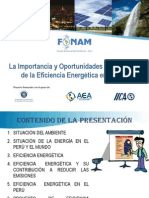 1. Importancia Eficiencia Energetica en El Peru
