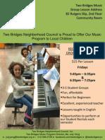Two Bridges Music Program
