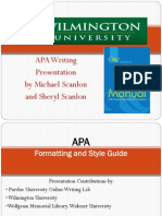 What and Why of #APA