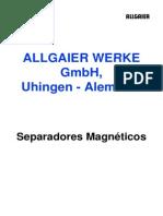 ALLGAIER Separadores Magnéticos-ES