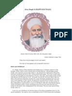 Sant Baba Attar Singh Ji Mastuane Wale