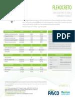 Ficha Tecnica Flexocreto - Septiembre 2012