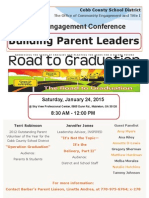 Road to Graduation Flyer