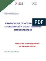 CAE Protocolos