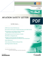 Transport Canada Aviation Safety Letter