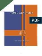 Elektronik 1 - Mersin Üniversitesi Temel Elektronik Ders Notları