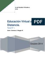 Educación Virtual a Distancia