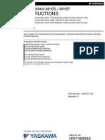 Motoman Mh5f Manual