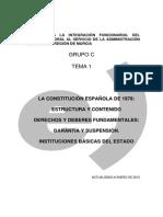 Tema 1. Constitución (1)Introduccion
