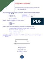 Ejemplo de Interes Simple y Compuesto