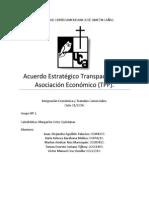 Acuerdo Transpacífico (TPP) Grupo Nº 2 .