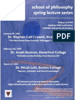 2015 Lecture Series