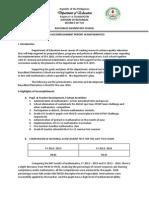 Accomplishment Report in Math 2014