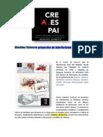 Muebles Valencia Proyectos de Interiorismo | creaespai.com