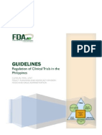 Guidelines on the Regulation of Clinical Trials in the Philippines