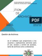 Gestion de Archivos Iuta I2VA