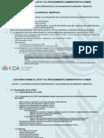 14. Acto y Procedimiento. Necesidad y Regulacion (1)