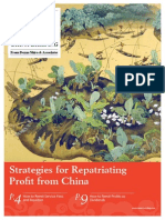 Strategies for Repatriating Profit From China