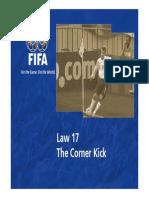 Law 17 the Corner Kick en 47358