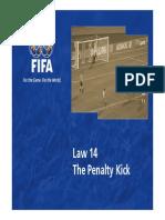Law 14 the Penalty Kick en 47369