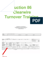 A86 Turnover Training Guide
