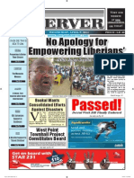 Liberian Daily Observer 04/09/2014
