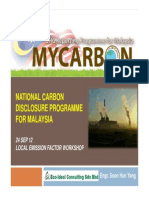 National Carbon Disclosure